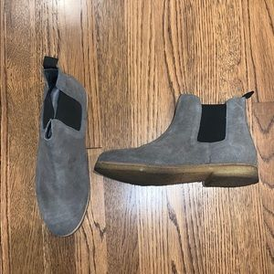 Urban Outfitters Gray Chelsea Boots